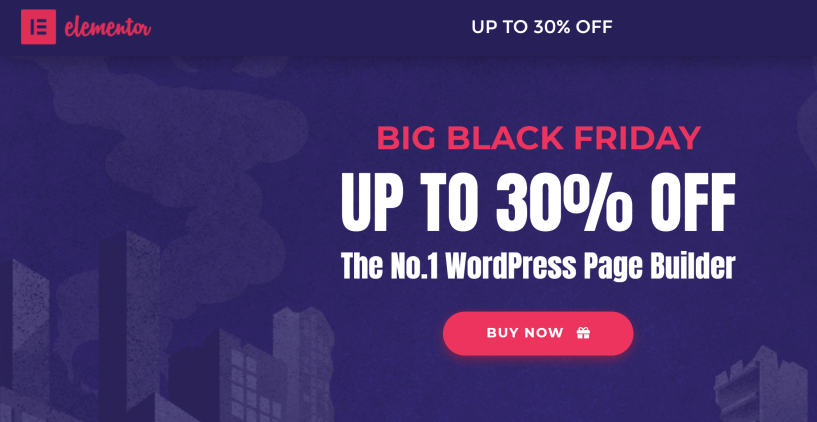 WordPress black friday/cyber monday 2019