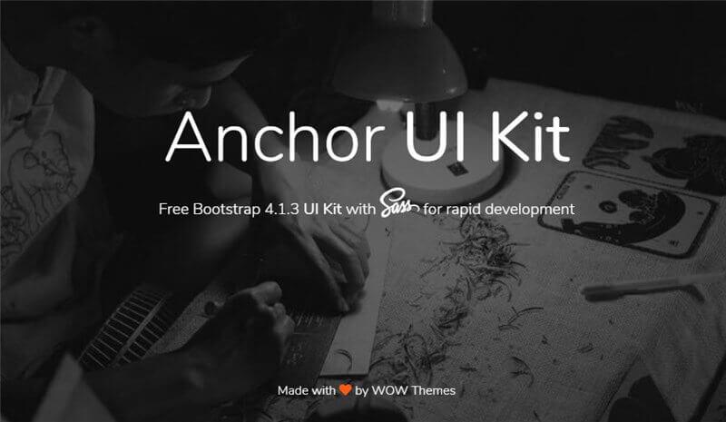 Free Bootstrap 4 HTML UI Kits | Wow Themes
