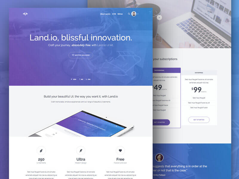 bootstrap ui kit