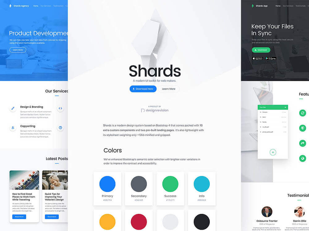 shards bootstrap ui kit