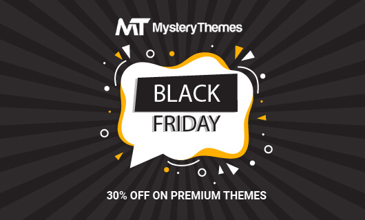 mystery themes black friday/cyber monday 2019
