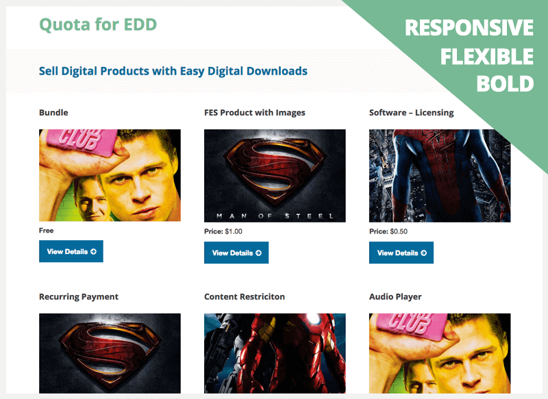 free easy digital download theme