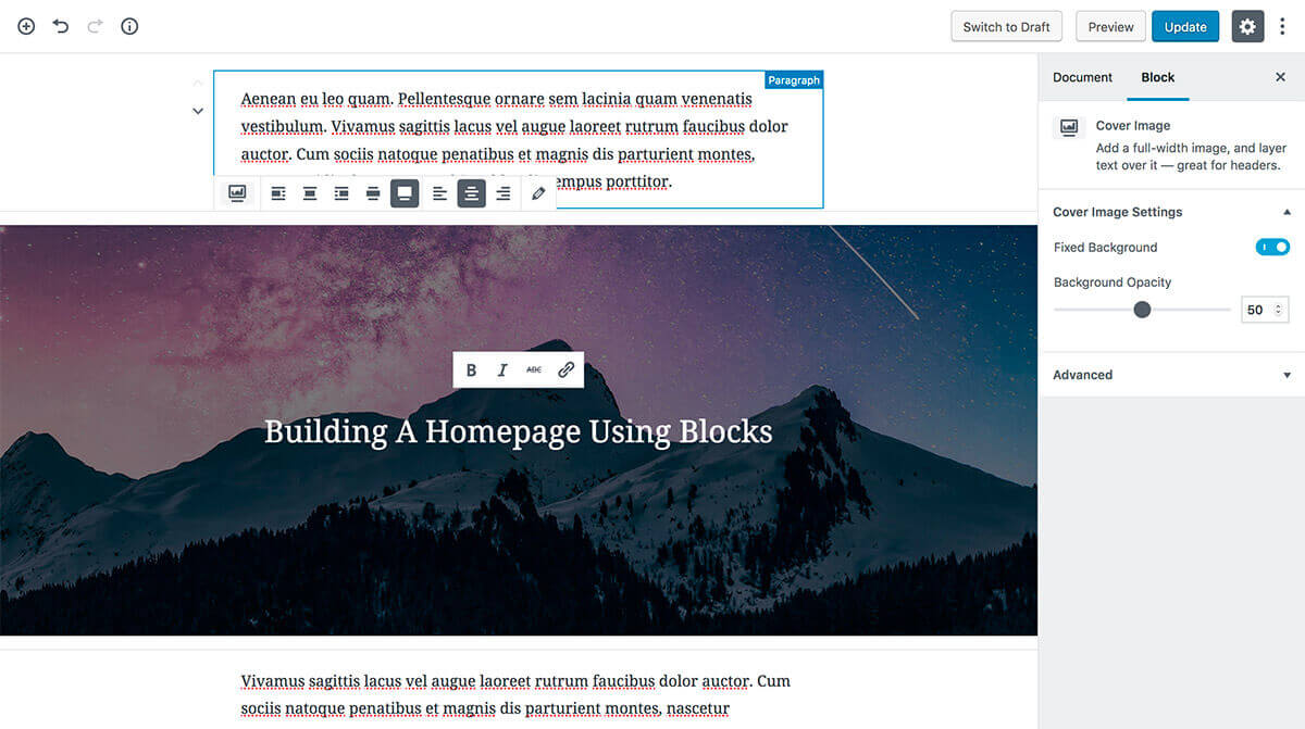 Block Lite - Gutenberg WordPress Theme