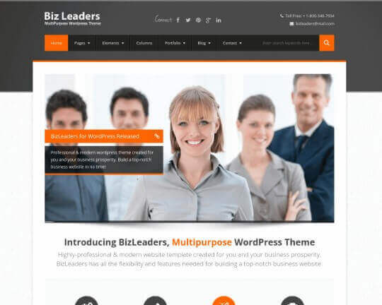 Biz Leaders HTML