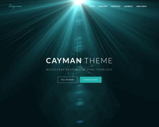 Cayman HTML