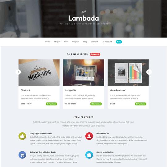Lambada HTML