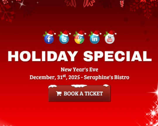 Seraphine Christmas HTML Template - Newsletter html template