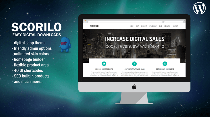 New Theme Released - Scorilo WP for Easy Digital Downloads | Wow Themes