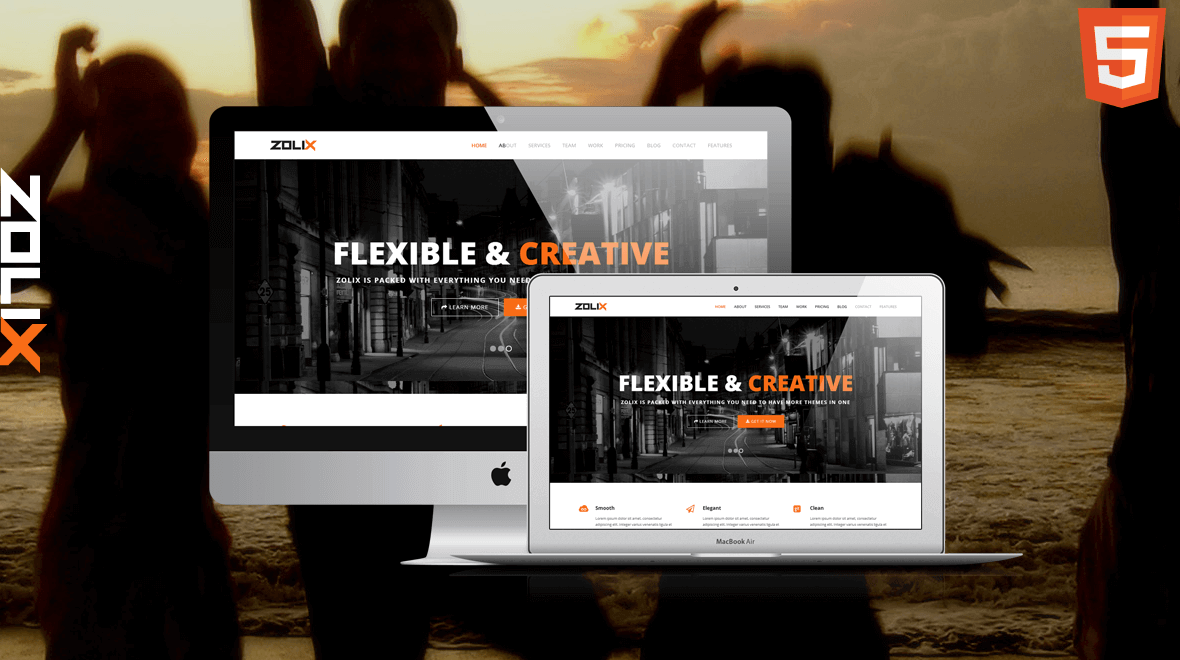 New HTML Template release - Zolix