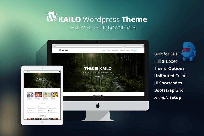 New WordPress Theme - Kailo