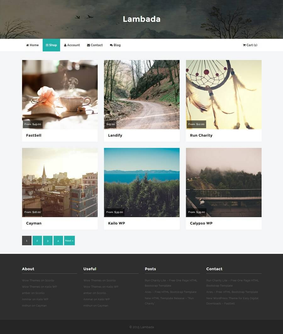 lambada free wordpress theme wow themes