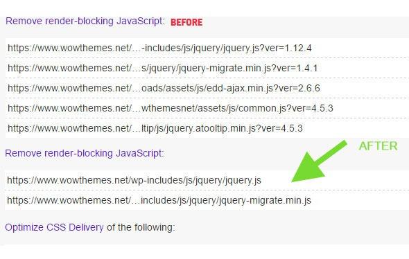 Eliminate render-blocking JavaScript in WordPress | Wow Themes