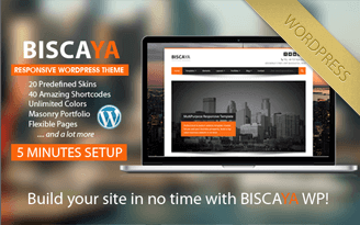 Full List of Shortcodes - Biscaya WordPress Theme