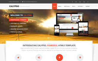 Calypso - HTML MultiPurpose Template