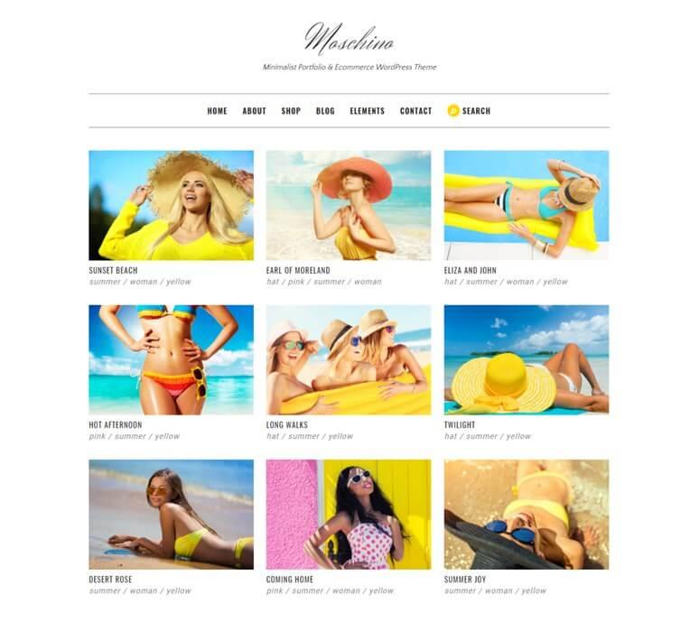 moschino-free-html-portfolio